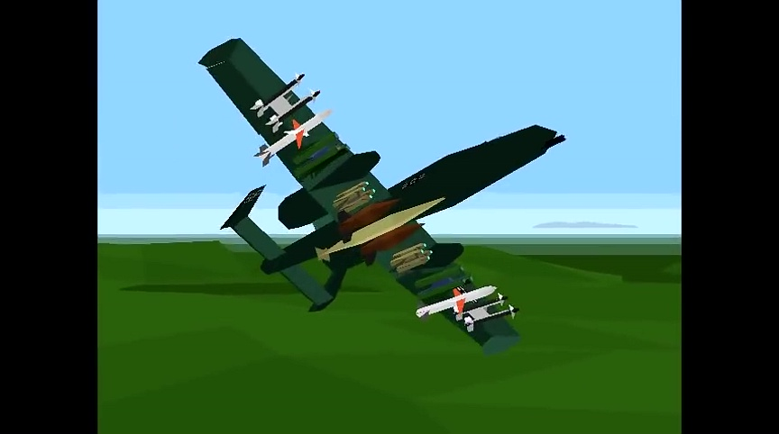 Douglas A-1 Skyraider | Flyable in these simulations