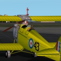 deHavilland Tiger Moth | Flyable in these simulations