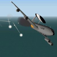 Boeing E-3 Sentry | Flyable in these simulations