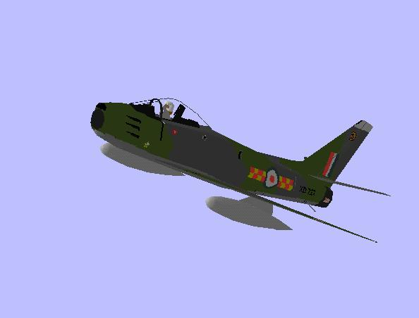 North American F-86 Sabre | Flyable in these simulations