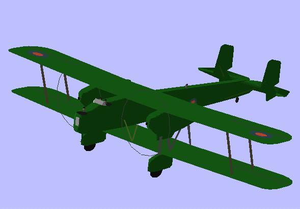 Handley-Page Heyford | Flyable in these simulations