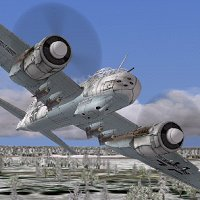 Junkers Ju-88 | Flyable in these simulations