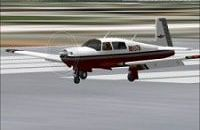 Mooney M-20 Bravo | Flyable in these simulations