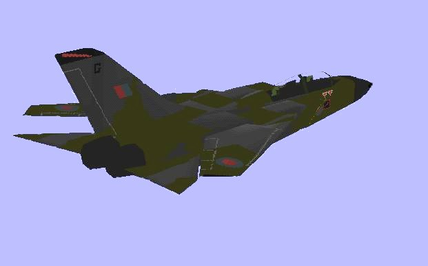 Panavia Tornado | Flyable in these simulations