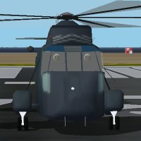 Westland WS-61 Sea King | Flyable in these simulations