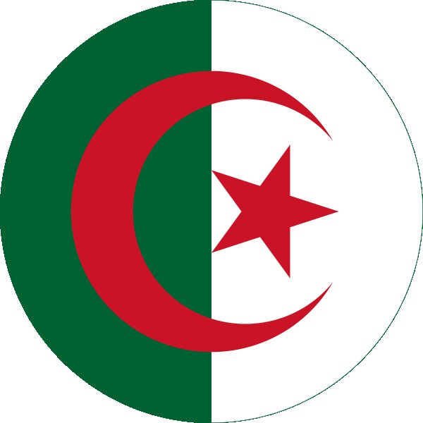 Roundel of Algeria Air Force.