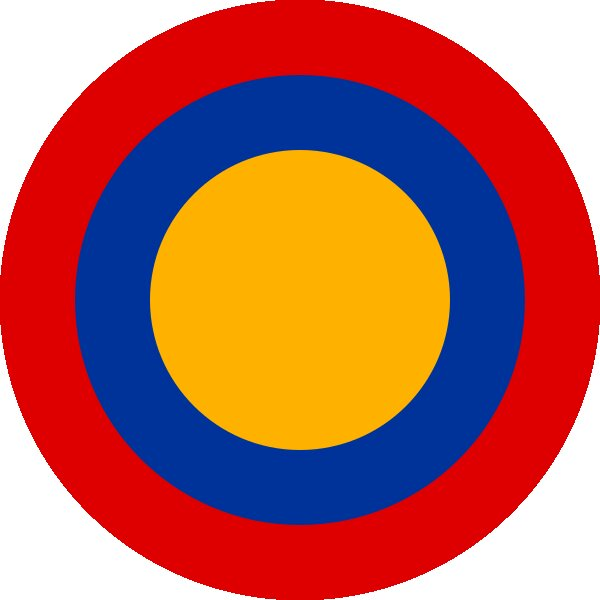 Roundel of Armenia Air Force.