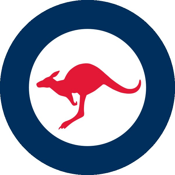 Roundel of Australia Air Force.