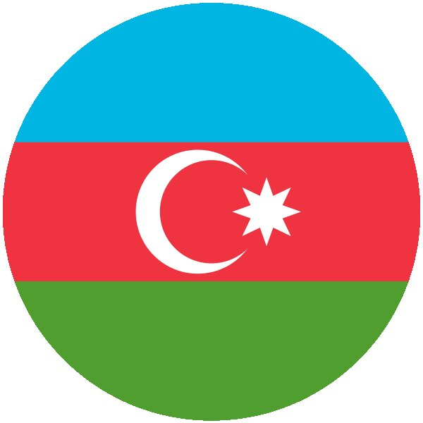 Roundel of Azerbaijan Air Force.