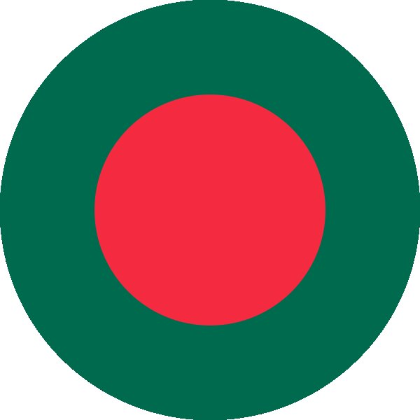 Roundel of Bangladesh Air Force.