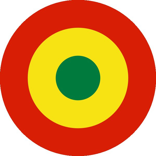 Roundel of Bolivia Air Force.