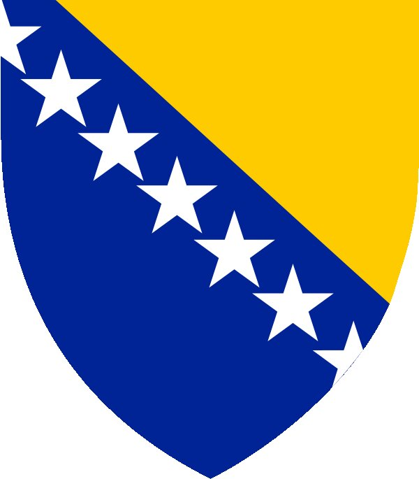 Roundel of Bosnia Herzegovina Air Force.