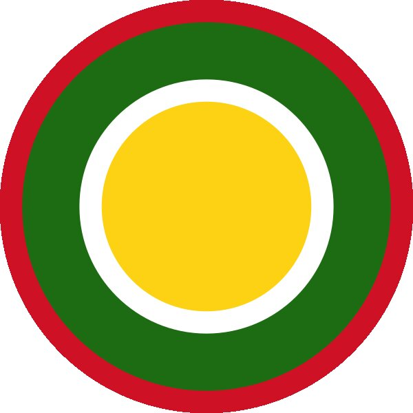 Roundel of Brunei Air Force.