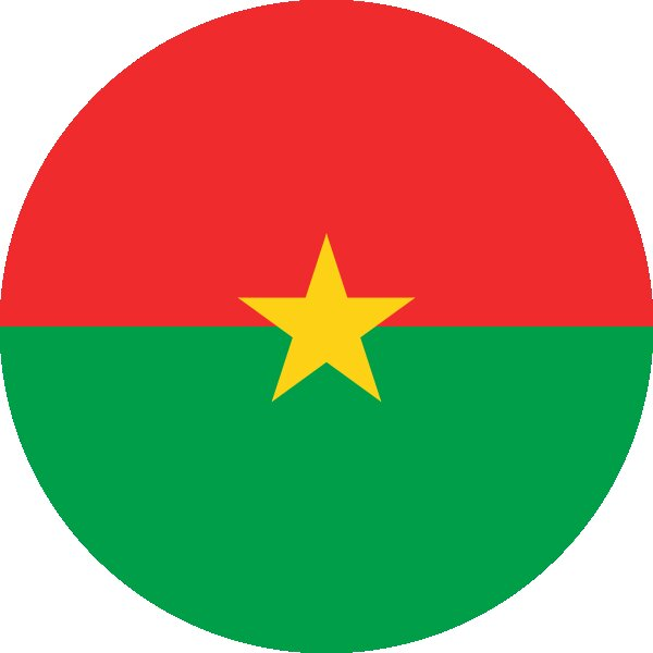 Roundel of Burkina Faso Air Force.