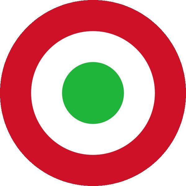 Roundel of Burundi Air Force.