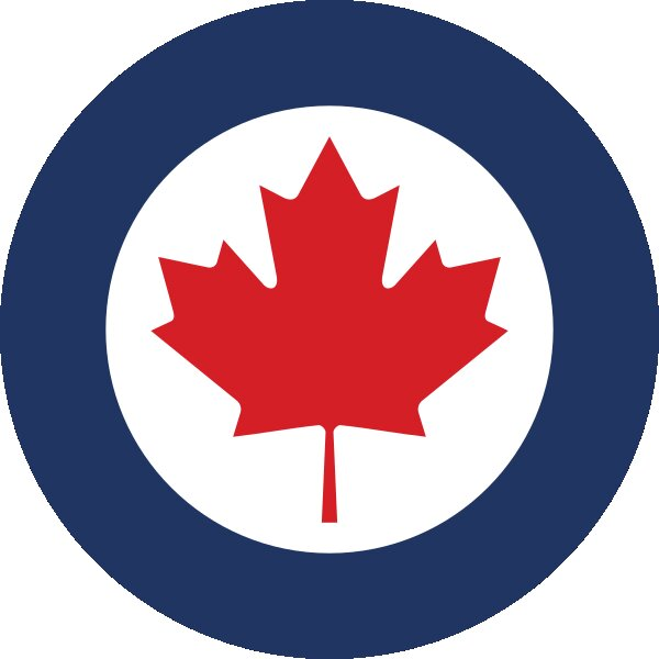 Roundel of Canada Air Force.