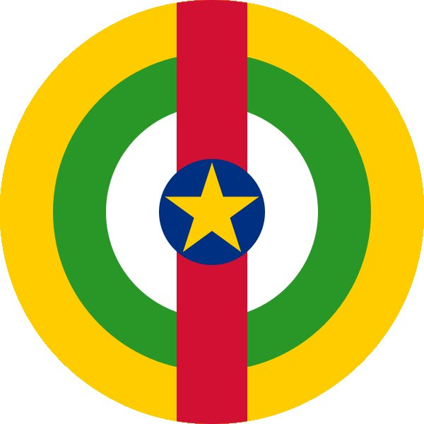 Roundel of Central African Republic Air Force.