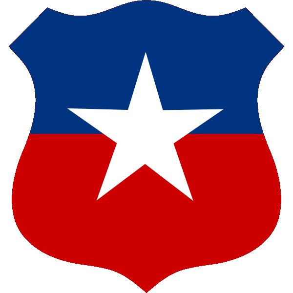 Roundel of Chile Air Force.