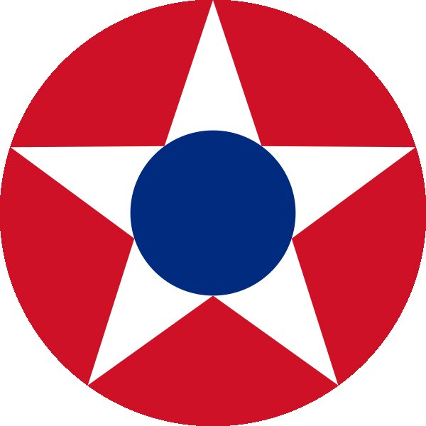 Roundel of Costa Rica Air Force.