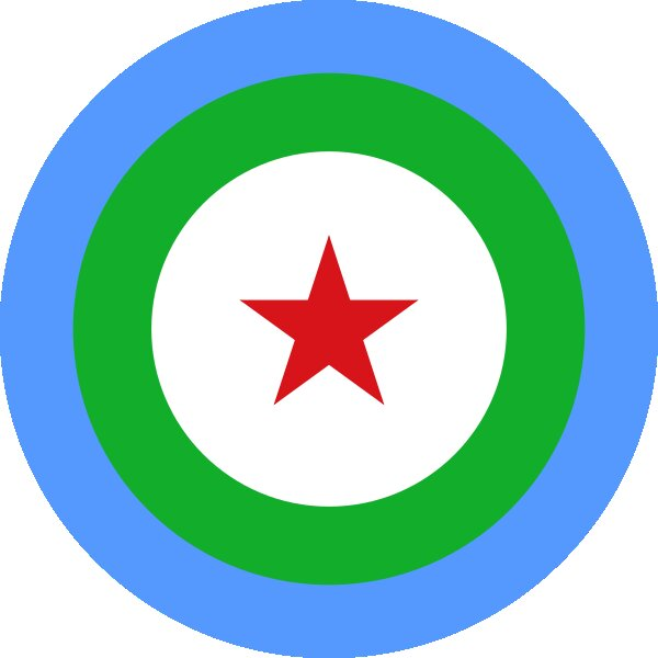 Roundel of Djibouti Air Force.