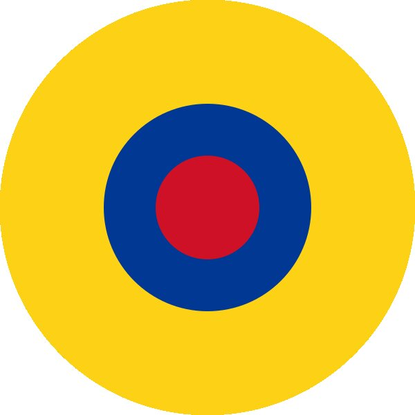 Roundel of Ecuador Air Force.
