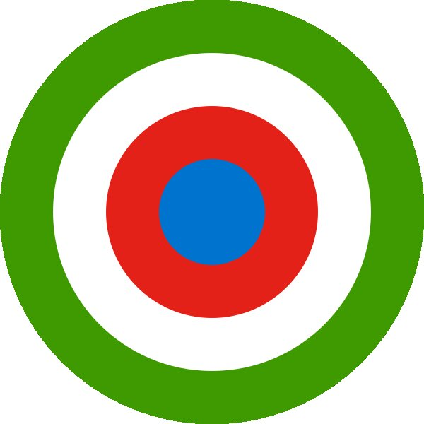 Roundel of Equatorial Guinea Air Force.