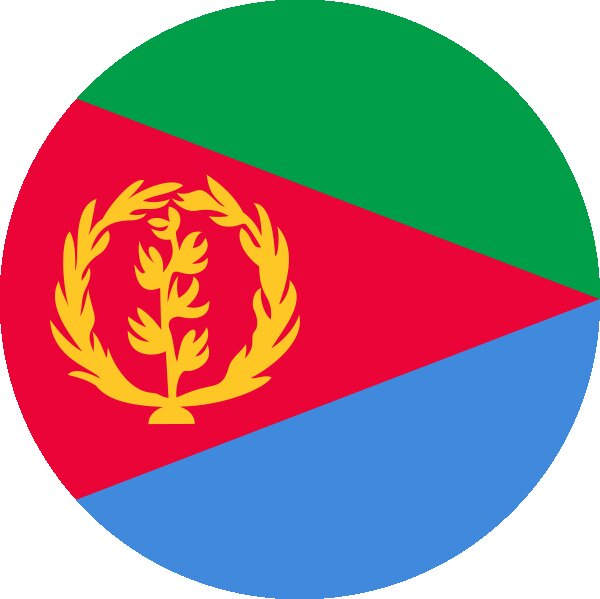 Roundel of Eritrea Air Force.