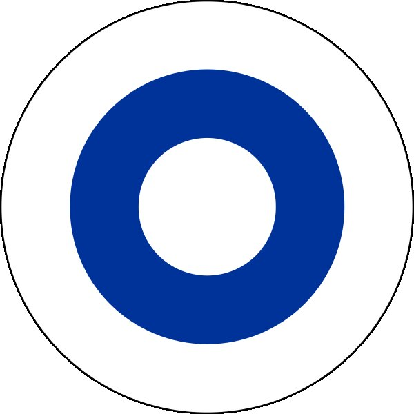 Roundel of Finland Air Force.