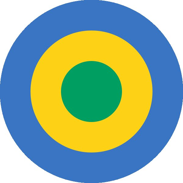 Roundel of Gabon Air Force.