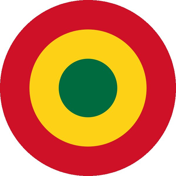 Roundel of Ghana Air Force.