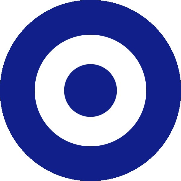 Roundel of Greece Air Force.