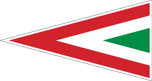 Roundel of Hungary Air Force.