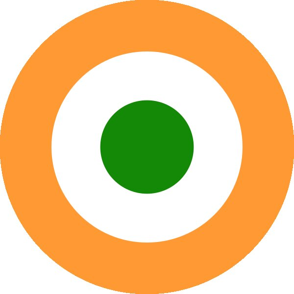 Roundel of Indian Air Force of India