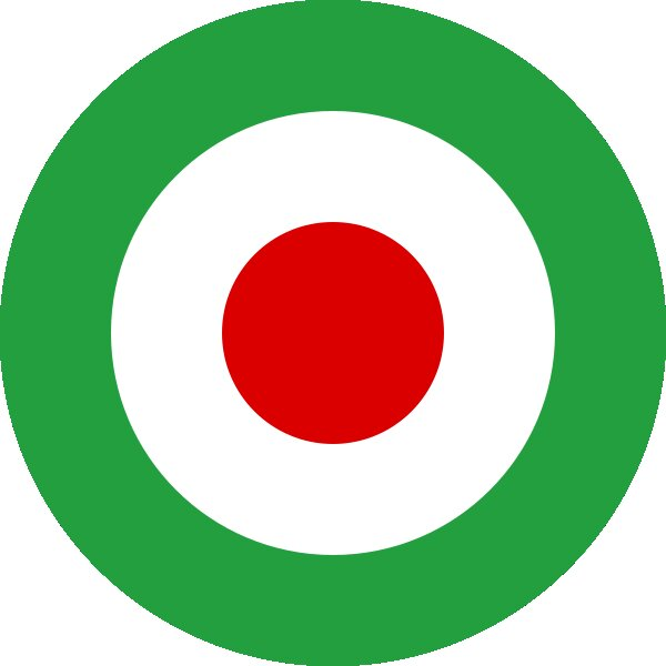 Roundel of Iran Air Force.