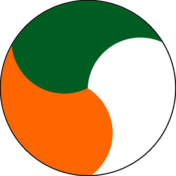 Roundel of Ireland Air Force.