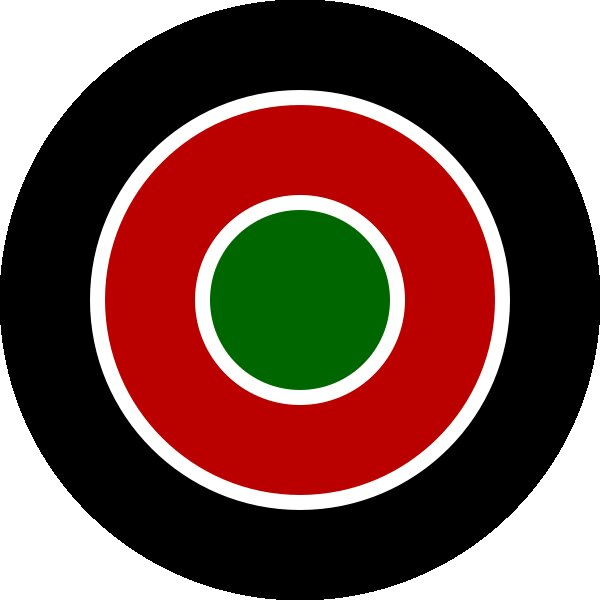 Roundel of Kenya Air Force.