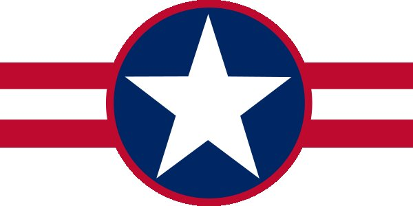 Roundel of Liberia Air Force.