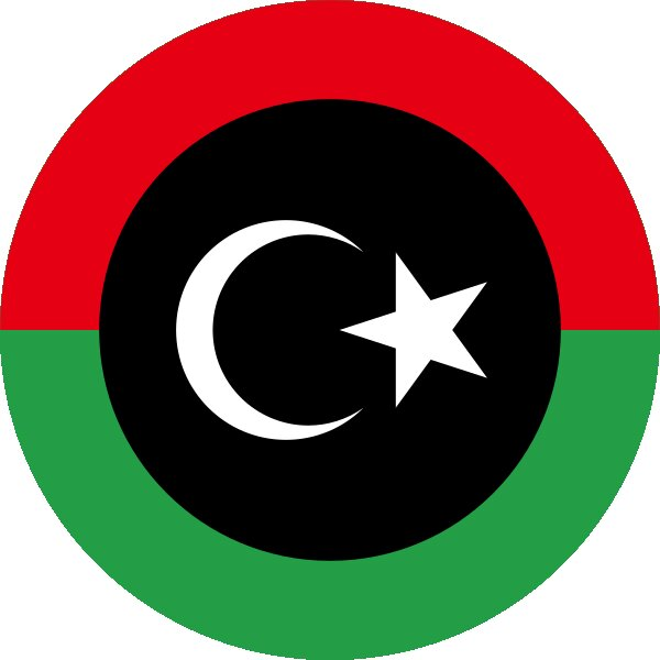 Roundel of Libya Air Force.