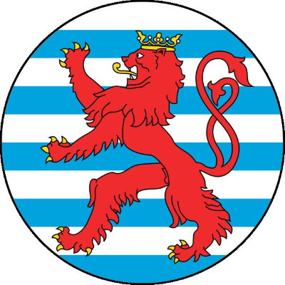 Roundel of Luxembourg Air Force.