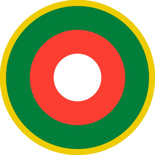 Roundel of Malagasy Air Force of Madagascar