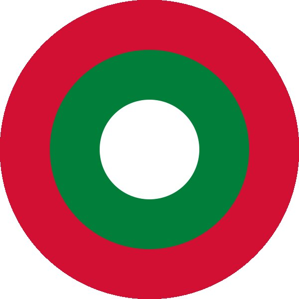 Roundel of Maldives Air Force.