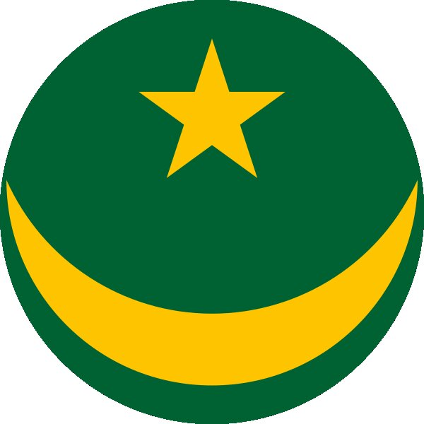 Roundel of Mauritania Air Force.