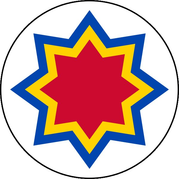 Roundel of Moldova Air Force.