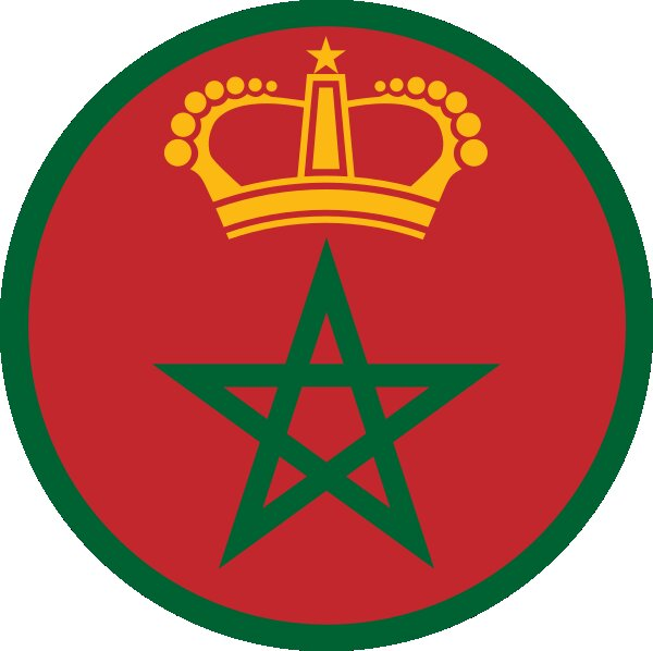 Roundel of Morocco Air Force.