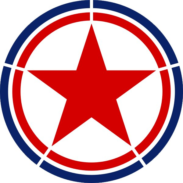 Roundel of North Korea Air Force.