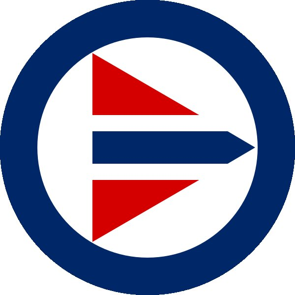 Roundel of Norway Air Force.