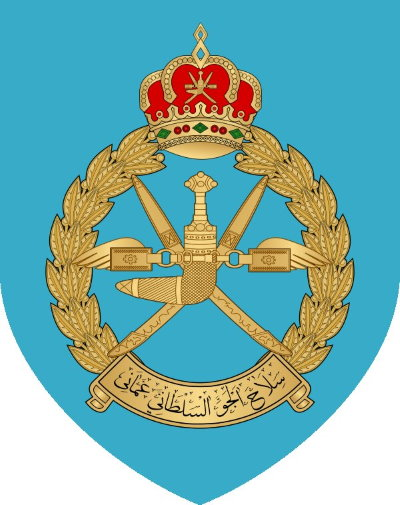 Roundel of Oman Air Force.