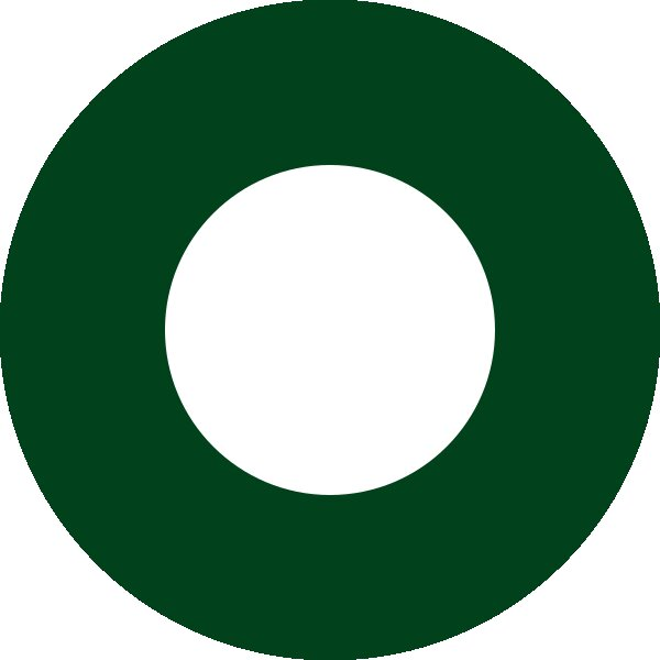 Roundel of Pakistan Air Force.