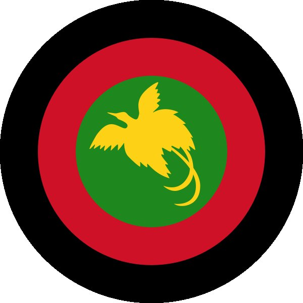 Roundel of Papua New Guinea Air Force.