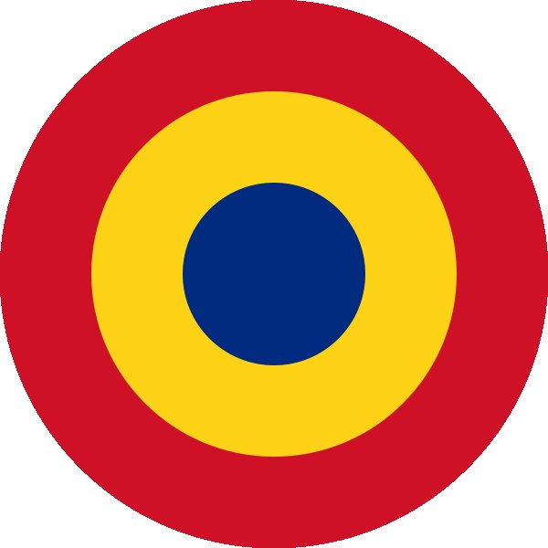 Roundel of Romania Air Force.